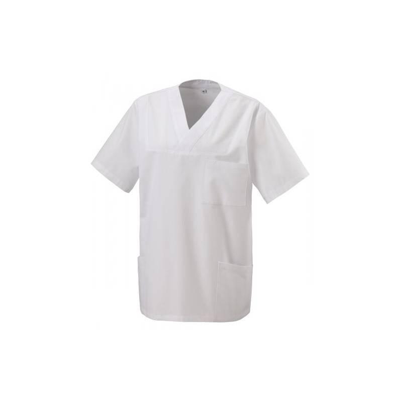 Herren -  Kasack 273 von EXNER / Farbe: weiß / 50% Baumwolle 50% Polyester 175 gr. - | MEIN-KASACK.de