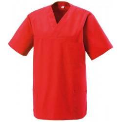 Herren -  Kasack 273 von EXNER / Farbe: rot / 50% Baumwolle 50% Polyester 175 gr. - | MEIN-KASACK.de
