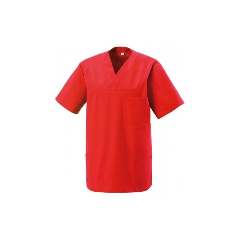Herren -  Kasack 273 von EXNER / Farbe: rot / 50% Baumwolle 50% Polyester 175 gr. - | MEIN-KASACK.de | kasack | kasacks