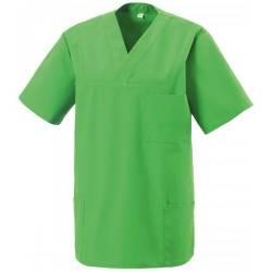 Herren -  Kasack 273 von EXNER / Farbe: lemon green/ 50% Baumwolle 50% Polyester 175 gr. - | MEIN-KASACK.de