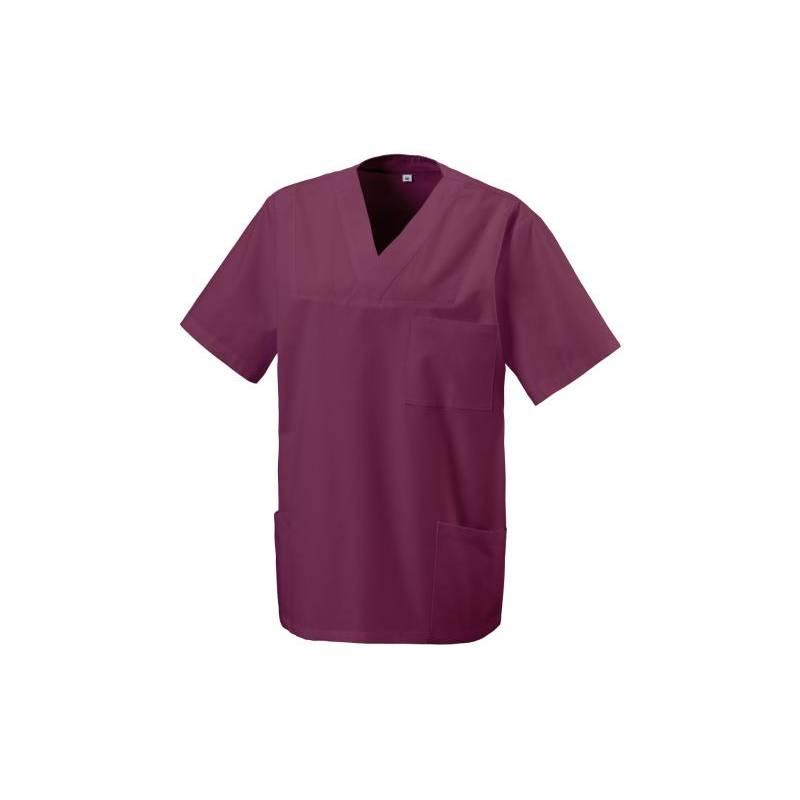 Herren -  Kasack 273 von EXNER / Farbe: bordeaux / 50% Baumwolle 50% Polyester 175 gr. - | MEIN-KASACK.de | kasack | kas