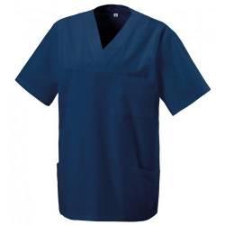 Herren -  Kasack 273 von EXNER / Farbe: navy / 50% Baumwolle 50% Polyester 175 gr. - | MEIN-KASACK.de | kasack | kasacks