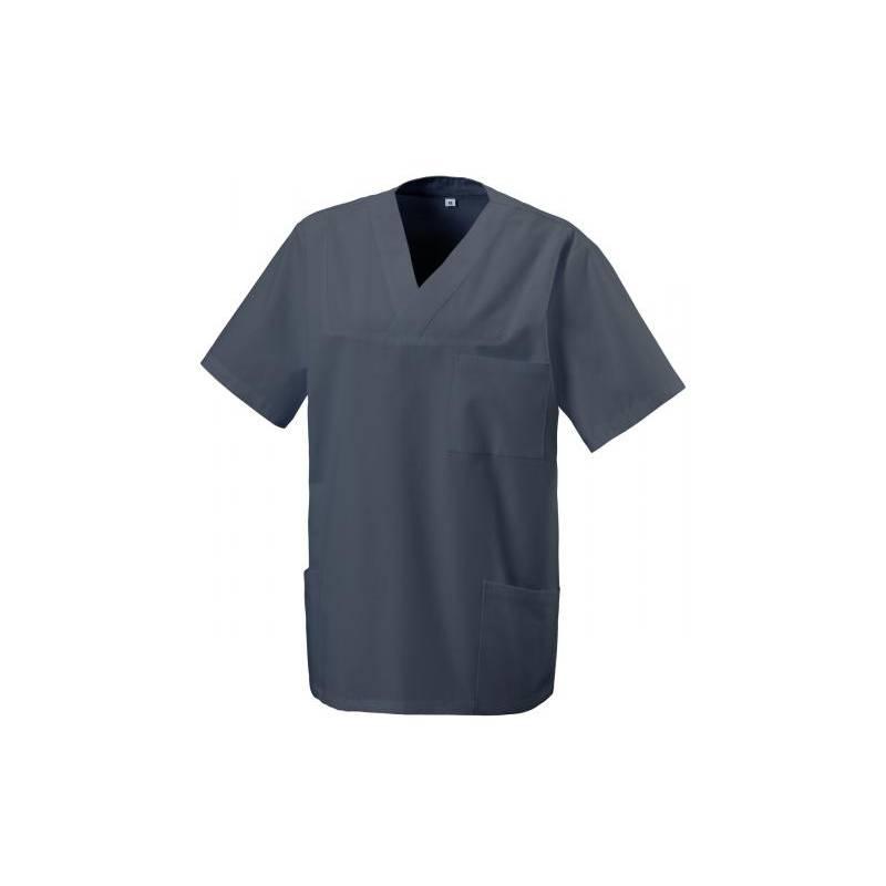 Herren -  Kasack 273 von EXNER / Farbe: graphit / 50% Baumwolle 50% Polyester 175 gr. -   MEIN-KASACK.de   kasack   kasa