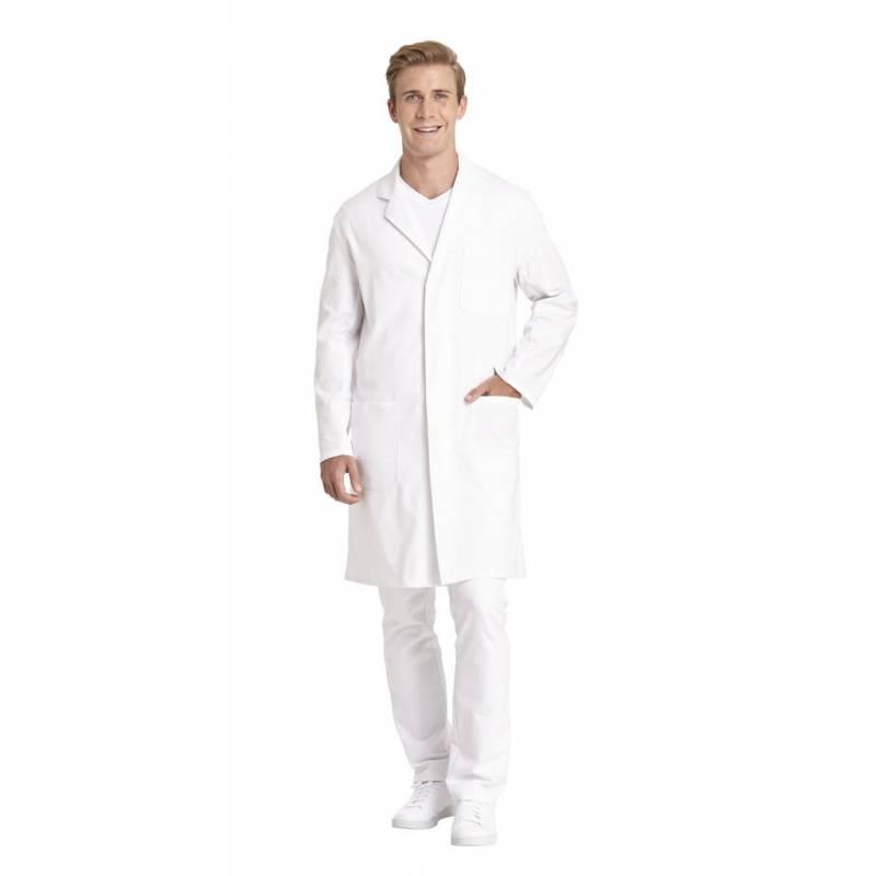 Herren - Arztkittel 1166 von LEIBER / Farbe: weiß / 100 % Baumwolle - | MEIN-KASACK.de