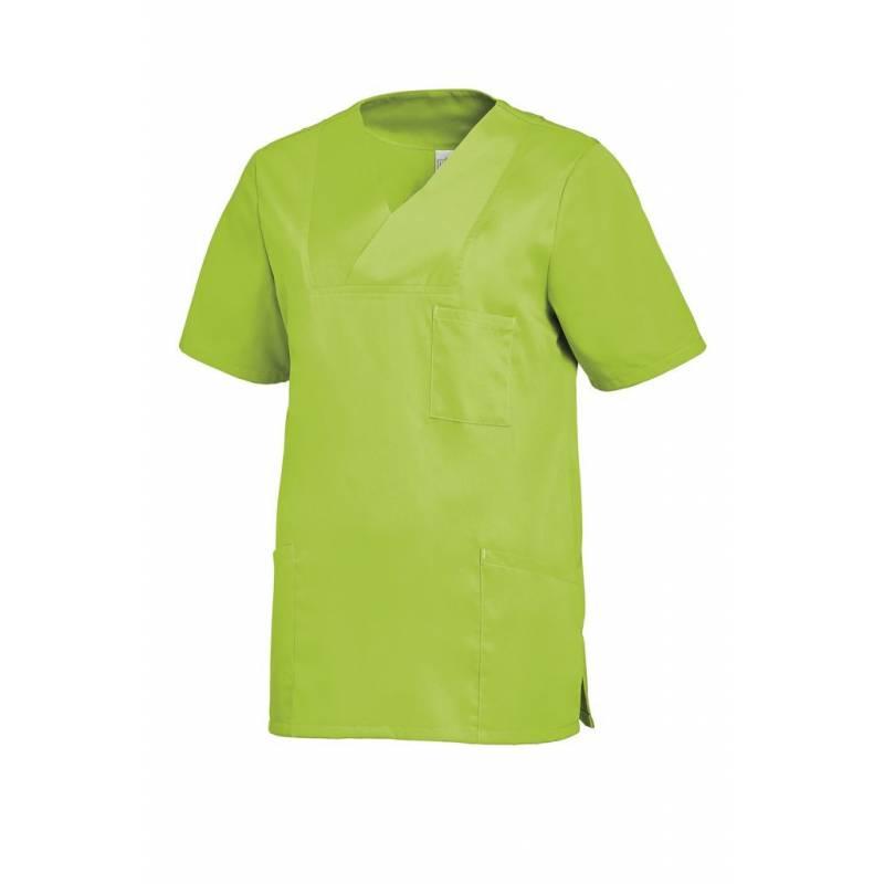 Damen -  Schlupfjacke 2732 von LEIBER / Farbe: hellgrün / 50% Baumwolle 50% Polyester -   MEIN-KASACK.de