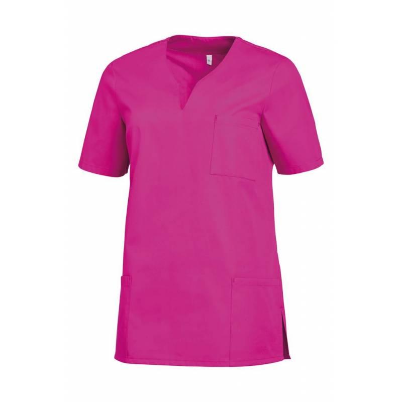 Damen -  Schlupfjacke 1249 von LEIBER / Farbe: fuchsia / 65 % Polyester 35 % Baumwolle - | MEIN-KASACK.de | kasack | kas