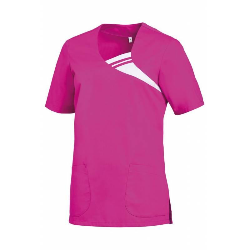 Damen -  Schlupfjacke 1255 von LEIBER / Farbe: fuchsia / 65 % Polyester 35 % Baumwolle -   MEIN-KASACK.de   kasack   kas