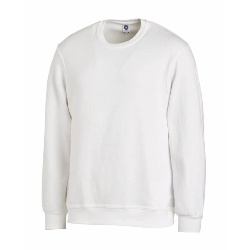 Unisex-Sweatshirt 882 von LEIBER / Farbe: weiß / 50% Baumwolle 50% Polyester - | MEIN-KASACK.de