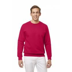 Unisex-Sweatshirt 882 von LEIBER / Farbe: rot / 50% Baumwolle 50% Polyester - | MEIN-KASACK.de
