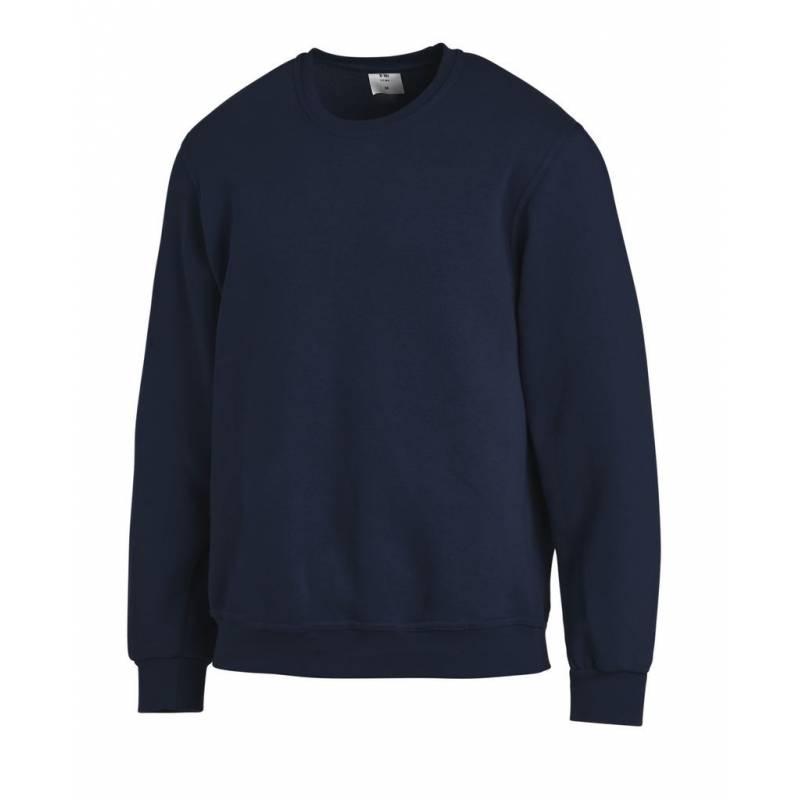 Unisex-Sweatshirt 882 von LEIBER / Farbe: marine / 50% Baumwolle 50% Polyester -   MEIN-KASACK.de