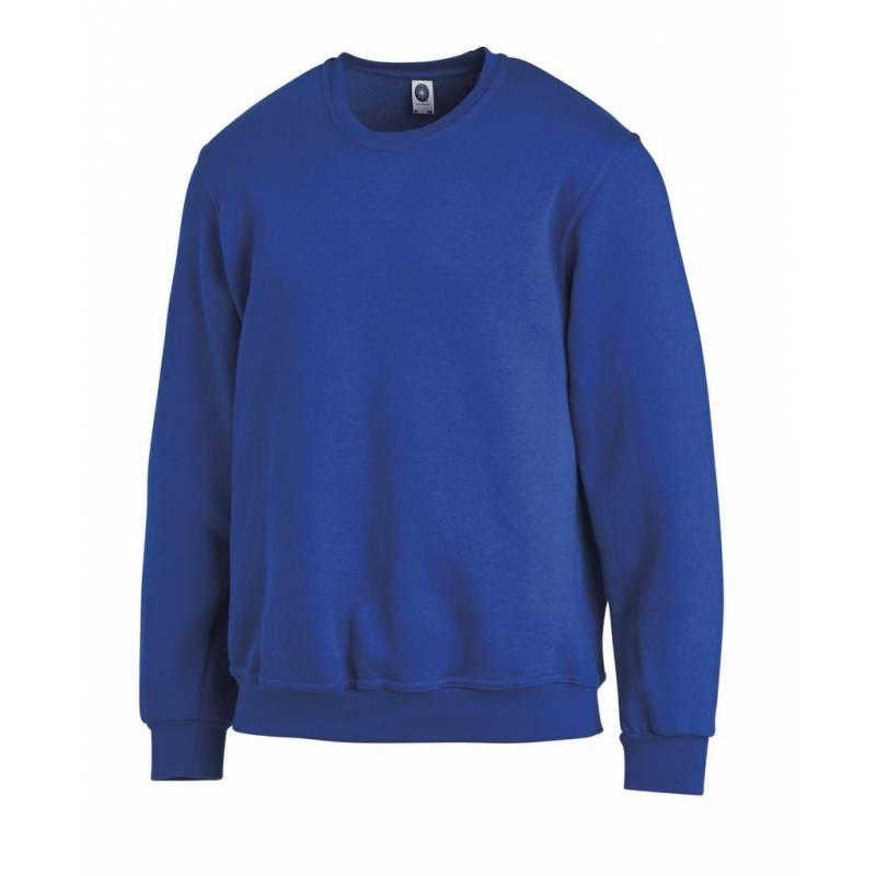 Unisex-Sweatshirt 882 von LEIBER / Farbe: königsblau / 50% Baumwolle 50% Polyester - | MEIN-KASACK.de