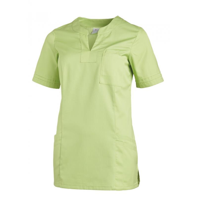 Damen -  Schlupfjacke 2557 von LEIBER / Farbe: hellgrün / 50 % Baumwolle 50 % Polyester - | MEIN-KASACK.de | kasack | ka