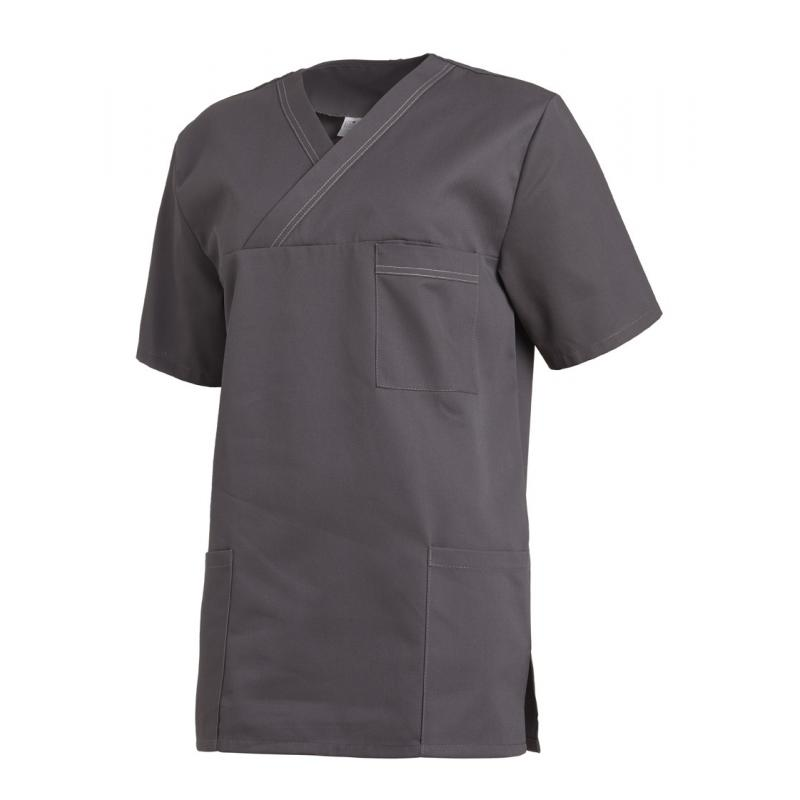 Damen - Schlupfjacke 2451 von LEIBER / Farbe: anthrazit / 65 % Polyester 35 % Baumwolle - | Wenn Kasack - Dann MEIN-KASA
