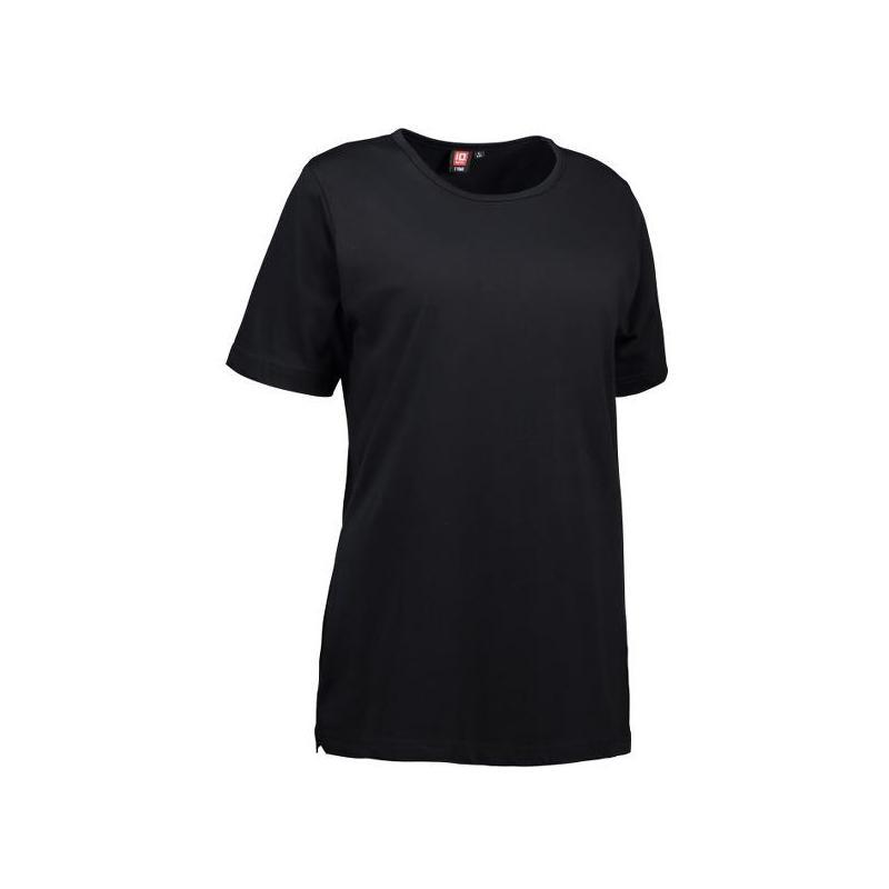 T-TIME Damen T-Shirt 0512 von ID / Farbe: schwarz / 100% BAUMWOLLE - | Wenn Kasack - Dann MEIN-KASACK.de | Kasacks für d