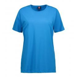 T-TIME Damen T-Shirt 0512 von ID / Farbe: türkis / 100% BAUMWOLLE - | MEIN-KASACK.de | kasack | kasacks | kassak | beruf