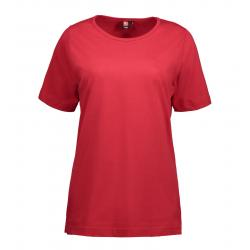 T-TIME Damen T-Shirt 0512 von ID / Farbe: rot / 100% BAUMWOLLE - | MEIN-KASACK.de | kasack | kasacks | kassak | berufsbe