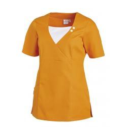 Schlupfjacke 2517 von LEIBER / Farbe: sun (orange) / 65 % Polyester 35% Baumwolle - | MEIN-KASACK.de