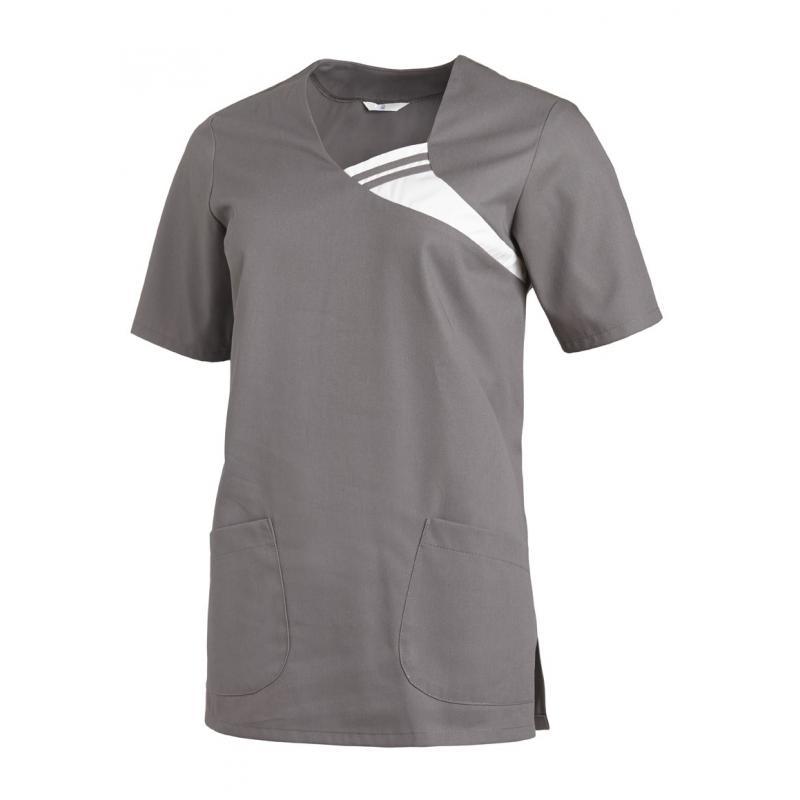 Damen -  Schlupfjacke 1255 von LEIBER / Farbe: grau / 65 % Polyester 35 % Baumwolle - | MEIN-KASACK.de | kasack | kasack
