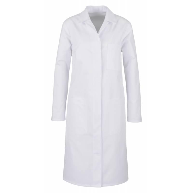 Damenmantel / Arztkittel / Laborkittel 12-343 von BEB / Farbe: weiß / 65% Polyester 35% Baumwolle - | MEIN-KASACK.de | k