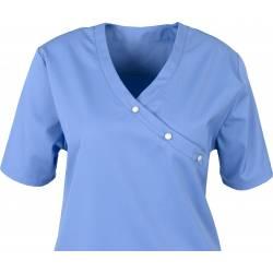Damen -  Kasack 941 von BEB / Farbe: mittelblau / 50% Baumwolle 50% Polyester - | MEIN-KASACK.de | kasack | kasacks | ka