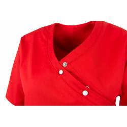Damen -  Kasack 941 von BEB / Farbe: rot / 50% Baumwolle 50% Polyester - | MEIN-KASACK.de | kasack | kasacks | kassak |