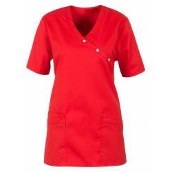 Damen -  Kasack 941 von BEB / Farbe: rot / 50% Baumwolle 50% Polyester - | MEIN-KASACK.de