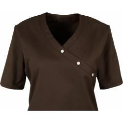 Damen -  Kasack 941 von BEB / Farbe: chocolate brown / 50% Baumwolle 50% Polyester - | MEIN-KASACK.de | kasack | kasacks