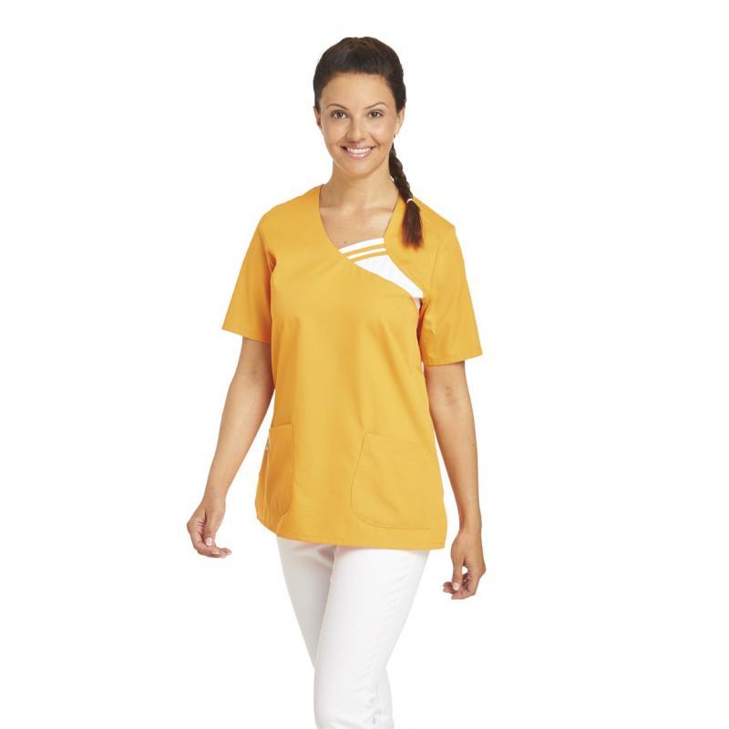 Schlupfjacke 1255 von LEIBER / Farbe: sun (orange) / 65 % Polyester 35 % Baumwolle - | Wenn Kasack - Dann MEIN-KASACK.de