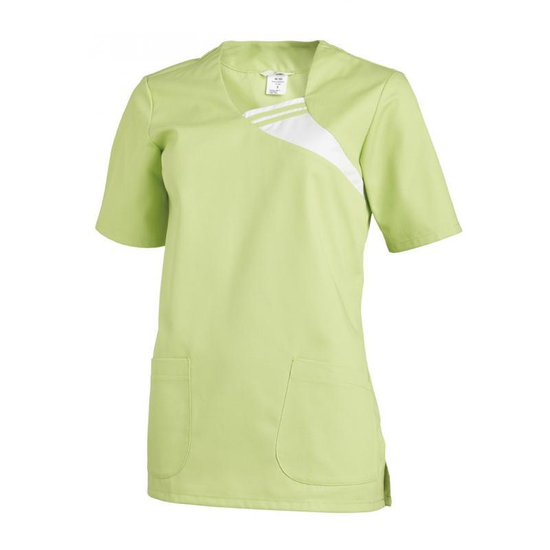 Schlupfjacke 1255 von LEIBER / Farbe: hellgrün / 65 % Polyester 35 % Baumwolle - | Wenn Kasack - Dann MEIN-KASACK.de | K