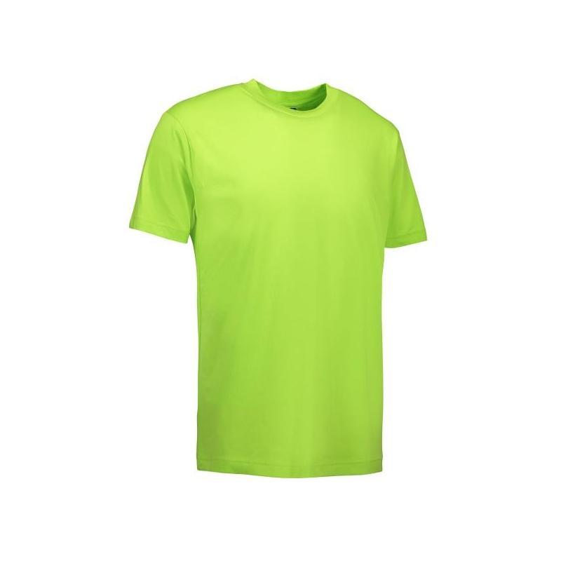 T-Shirt 0500 von ID / Farbe: lime / 100% BAUMWOLLE -   MEIN-KASACK.de