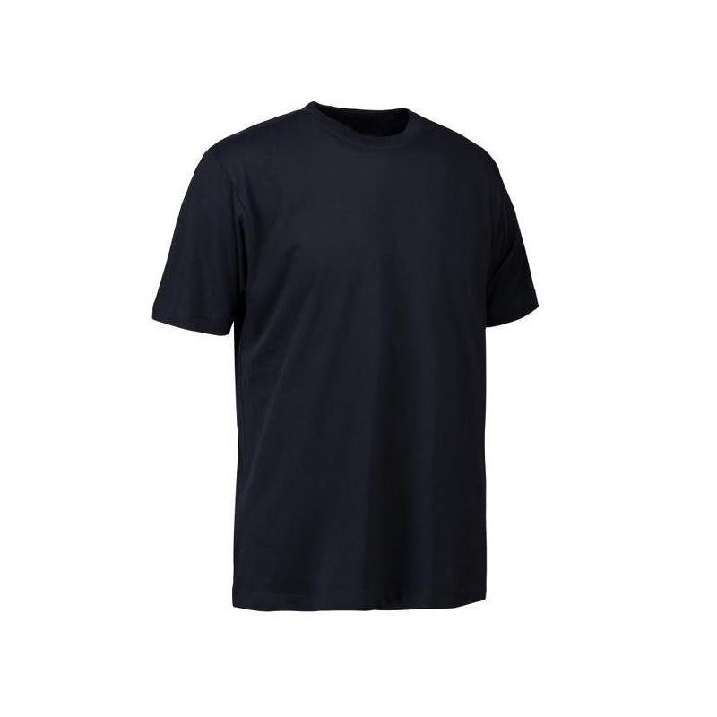 T-Shirt 0500 von ID / Farbe: navy / 100% BAUMWOLLE - | Wenn Kasack - Dann MEIN-KASACK.de | Kasacks für die Altenpflege K