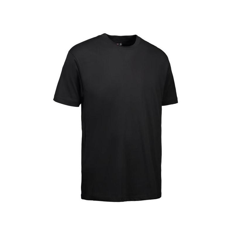 T-Shirt 0500 von ID / Farbe: schwarz / 100% BAUMWOLLE -   Wenn Kasack - Dann MEIN-KASACK.de   Kasacks für die Altenpfleg