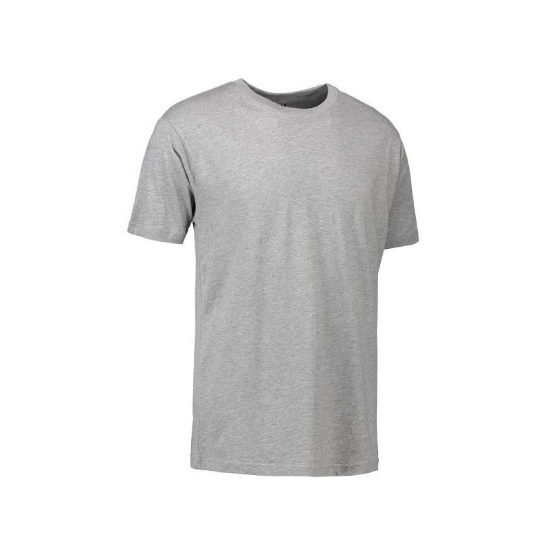 T-Shirt 0500 von ID / Farbe: grau / 100% BAUMWOLLE - | Wenn Kasack - Dann MEIN-KASACK.de | Kasacks für die Altenpflege K