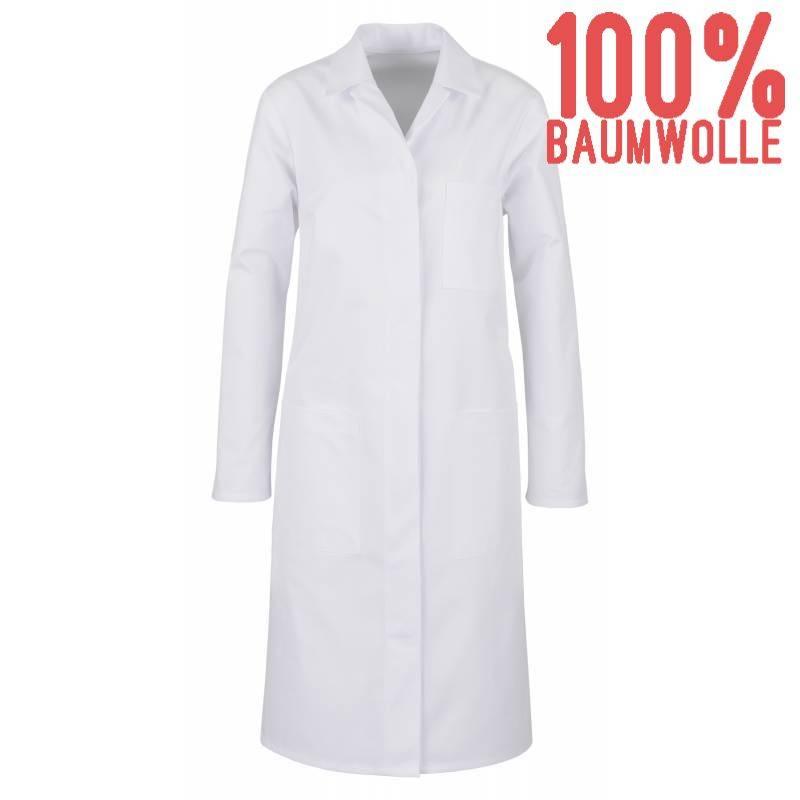 Damenmantel / Arztkittel / Laborkittel 12-22 von BEB / Farbe: weiß / 100% BW - | MEIN-KASACK.de | kasack | kasacks | kas