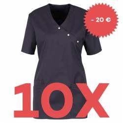 SPARSET: 10x Damen -  Kasack 941 von BEB / Farbe: dunkelgrau - | MEIN-KASACK.de | kasack | kasacks | kassak | berufsbekl