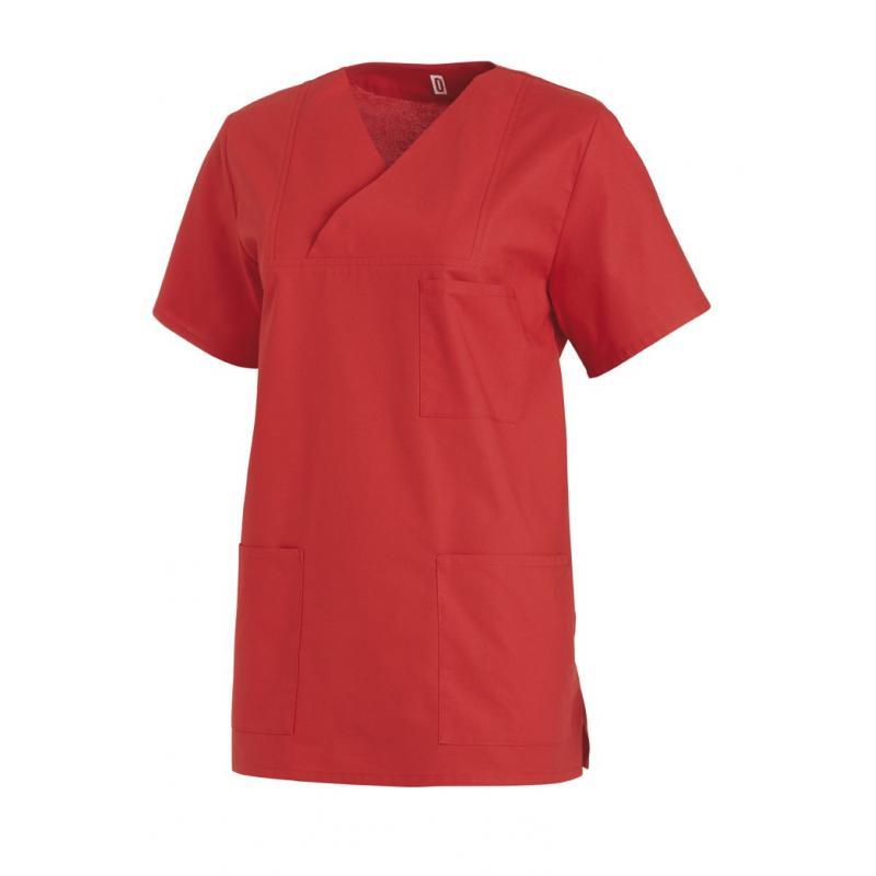 Damen-Schlupfjacke 769 von LEIBER / Farbe: rot / 50 % Baumwolle 50 % Polyester - | Wenn Kasack - Dann MEIN-KASACK.de | K