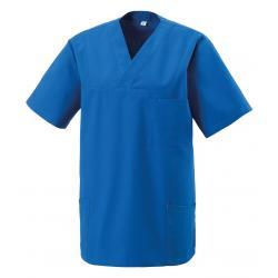 Damen -  Kasack 273 von EXNER / Farbe: royal-blau / 50% Baumwolle 50% Polyester 175 gr. - | MEIN-KASACK.de