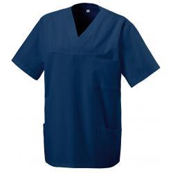 Damen -  Kasack 273 von EXNER / Farbe: navy / 50% Baumwolle 50% Polyester 175 gr. - | MEIN-KASACK.de