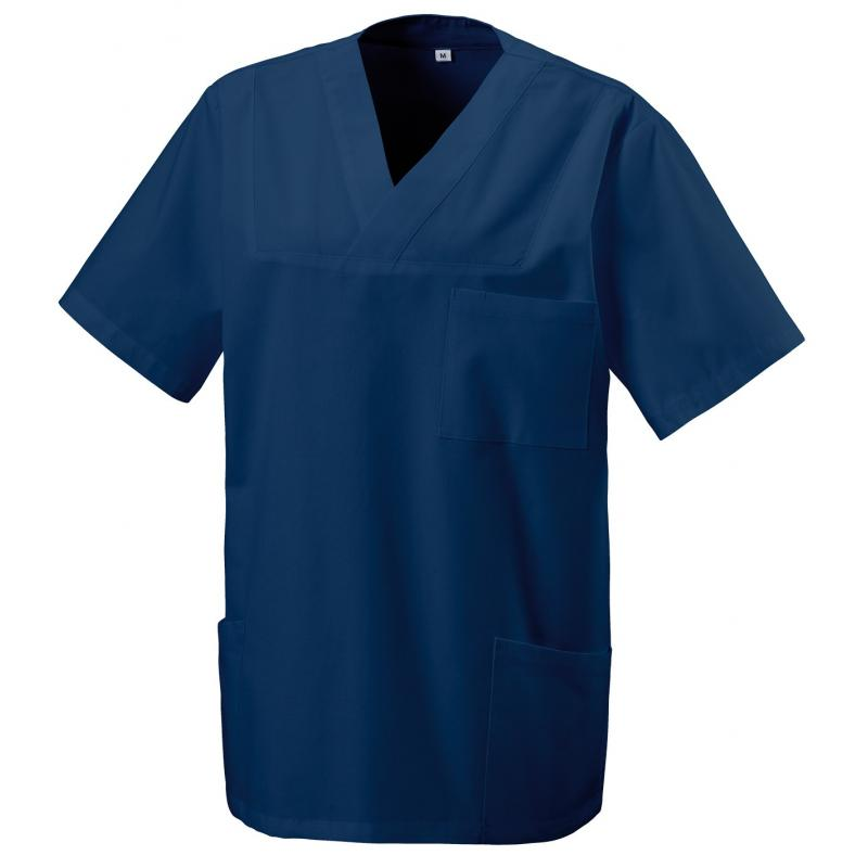 Damen -  Kasack 273 von EXNER / Farbe: navy / 50% Baumwolle 50% Polyester 175 gr. - | MEIN-KASACK.de | kasack | kasacks