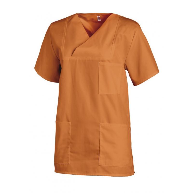 Damen-Schlupfjacke 769 von LEIBER / Farbe: orange / 50 % Baumwolle 50 % Polyester - | Wenn Kasack - Dann MEIN-KASACK.de
