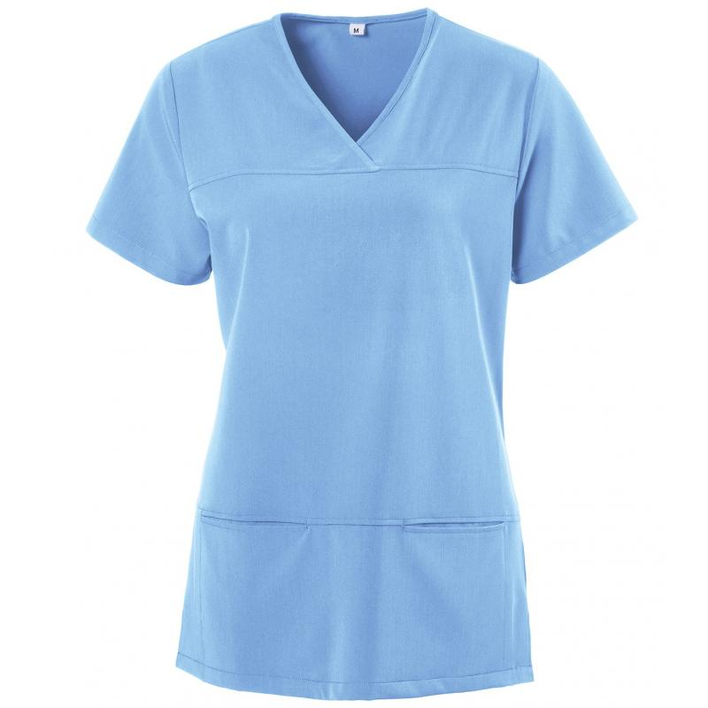 Kasack 280 - X-TOP von EXNER / Farbe: light blue / 73% Polyester, 22% Viscose, 5% Spandex, 180 g - | Wenn Kasack - Dann