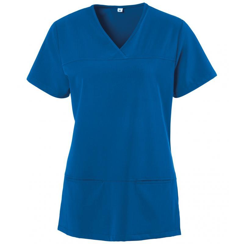 Kasack 280 - X-TOP von EXNER / Farbe: royal blau / 73% Polyester, 22% Viscose, 5% Spandex, 180 g - | Wenn Kasack - Dann