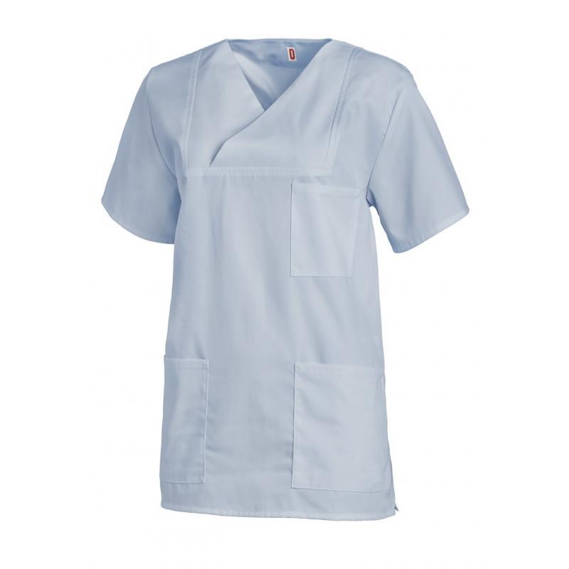 Damen-Schlupfjacke 769 von LEIBER / Farbe: hellblau / 50 % Baumwolle 50 % Polyester - | Wenn Kasack - Dann MEIN-KASACK.d