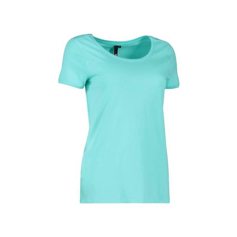 CORE O-Neck Tee Damen T-Shirt 541 von ID / Farbe: mint / 60% BAUMWOLLE 40% POLYESTER - | MEIN-KASACK.de | kasack | kasac