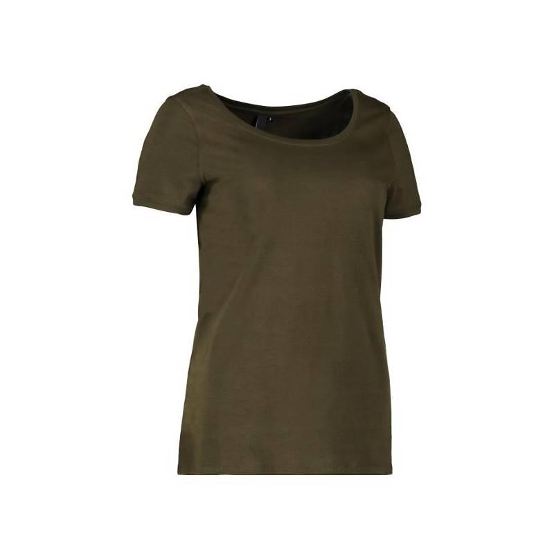 CORE O-Neck Tee Damen T-Shirt 541 von ID / Farbe: oliv / 60% BAUMWOLLE 40% POLYESTER -   MEIN-KASACK.de   kasack   kasac