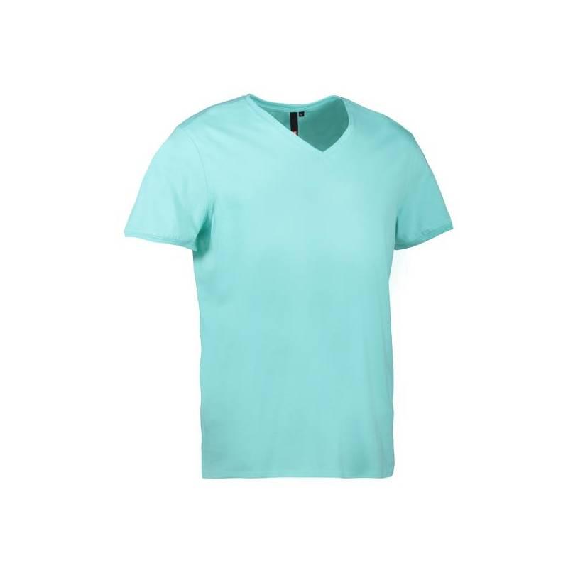 CORE V-Neck Tee Herren T-Shirt 542 von ID / Farbe: mint / 90% BAUMWOLLE 10% VISKOSE -   MEIN-KASACK.de   kasack   kasack