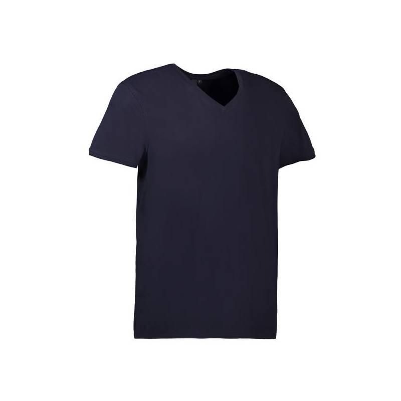 CORE V-Neck Tee Herren T-Shirt 542 von ID / Farbe: navy / 90% BAUMWOLLE 10% VISKOSE - | MEIN-KASACK.de | kasack | kasack