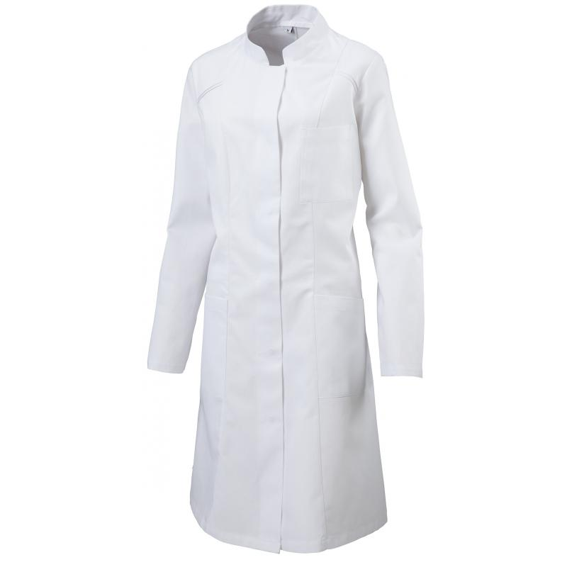 Heute im Angebot: Chasuble 264 von LEIBER / Farbe: weiß-rot / 65 % Polyester 35 % Baumwolle  - BERUFSBEKLEIDUNG PFLEGE - KITTEL - BERUFSKLEIDUNG PFLEGE