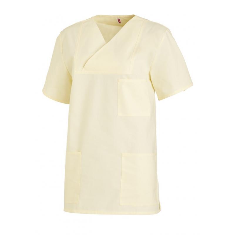Damen-Schlupfjacke 769 von LEIBER / Farbe: gelb / 50 % Baumwolle 50 % Polyester - | Wenn Kasack - Dann MEIN-KASACK.de |