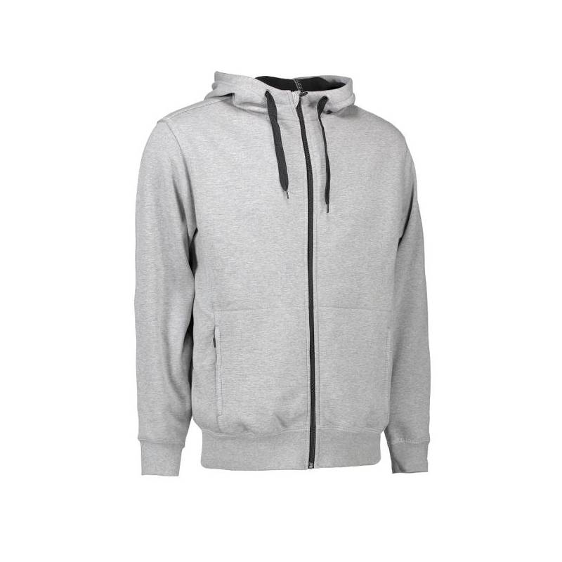 Bonded Herrenjacke | 630 von ID / Farbe: grau / 100% BAUMWOLLE - | MEIN-KASACK.de | kasack | kasacks | kassak | berufsbe